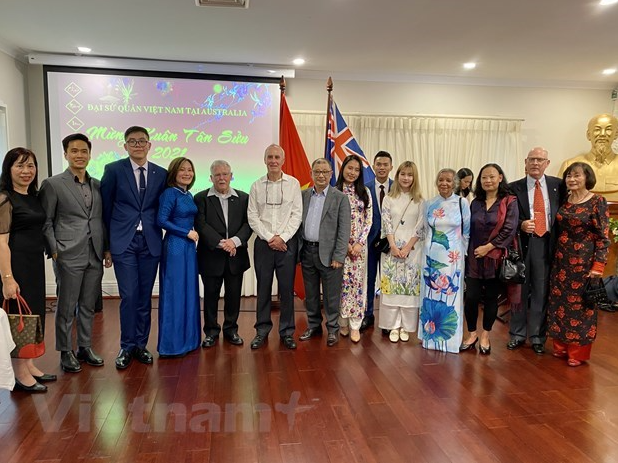diplomatic agencies in australia italy russia hold tet gatherings with overseas vietnamese