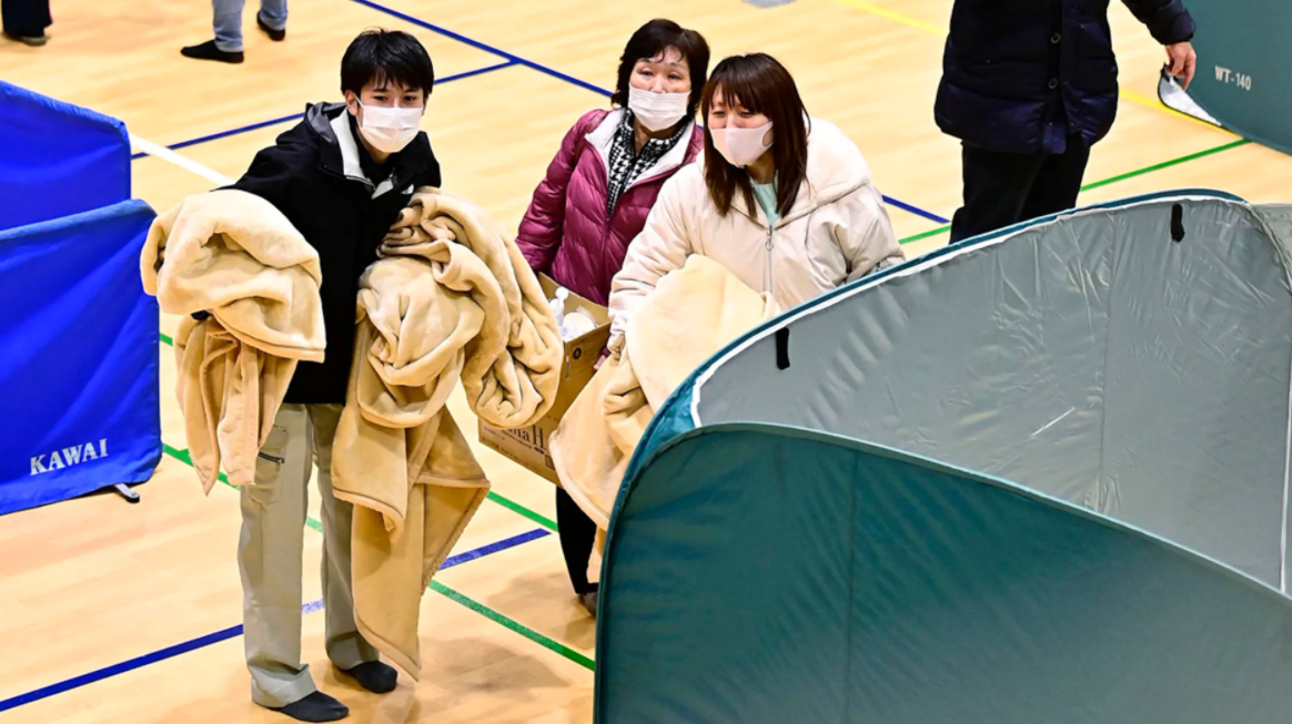 powerful quake hits japan evoking a worrisome memory