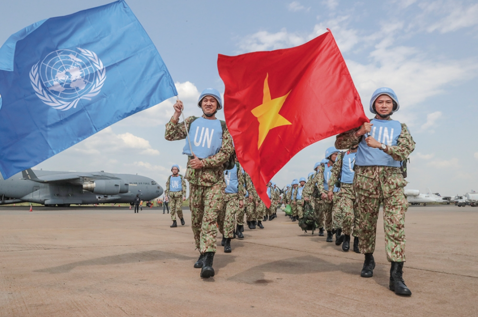pm signed plan to implement na resolution on joining un peacekeeping operations