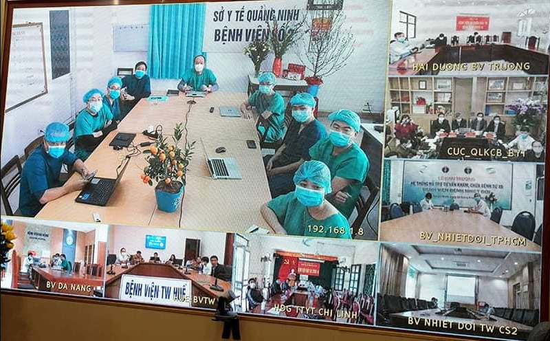 Vietnam saved the life of the most critical COVID-19 patient