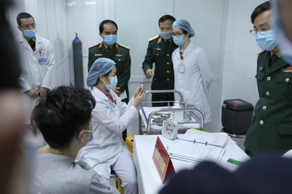 Locations in Vietnam to recieve COVID-19 vaccination on March 8?