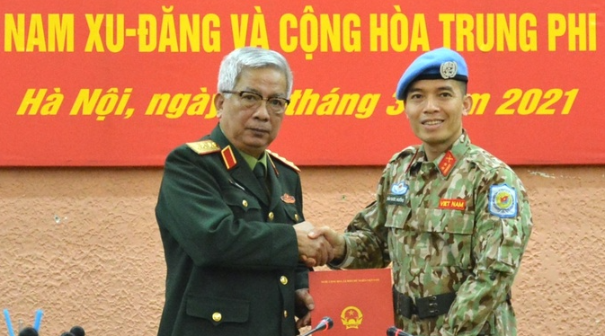 vietnamese peacekeeping officer sent to work at un headquarters