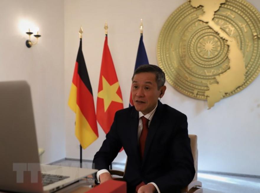 vietnam germany seek stronger economic ties