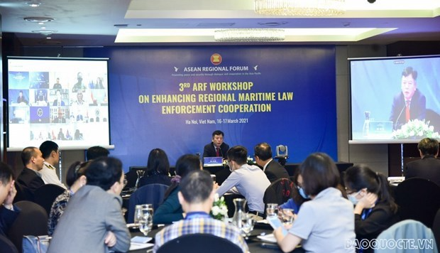 ARF talks regional cooperation in maritime law enforcement