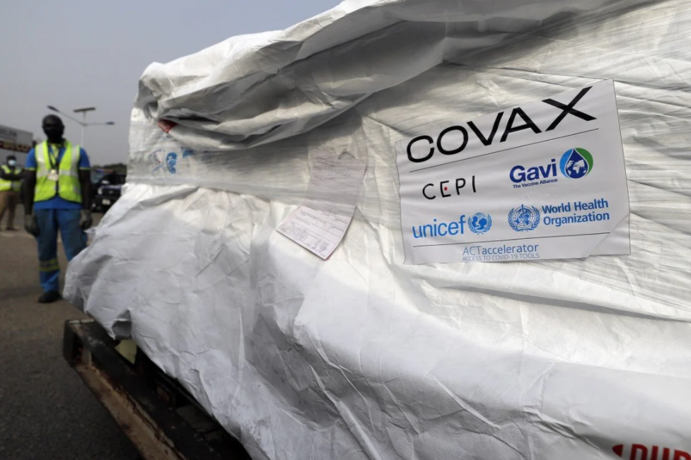 delivery of first covid 19 vaccine shipment from covax facility delayed