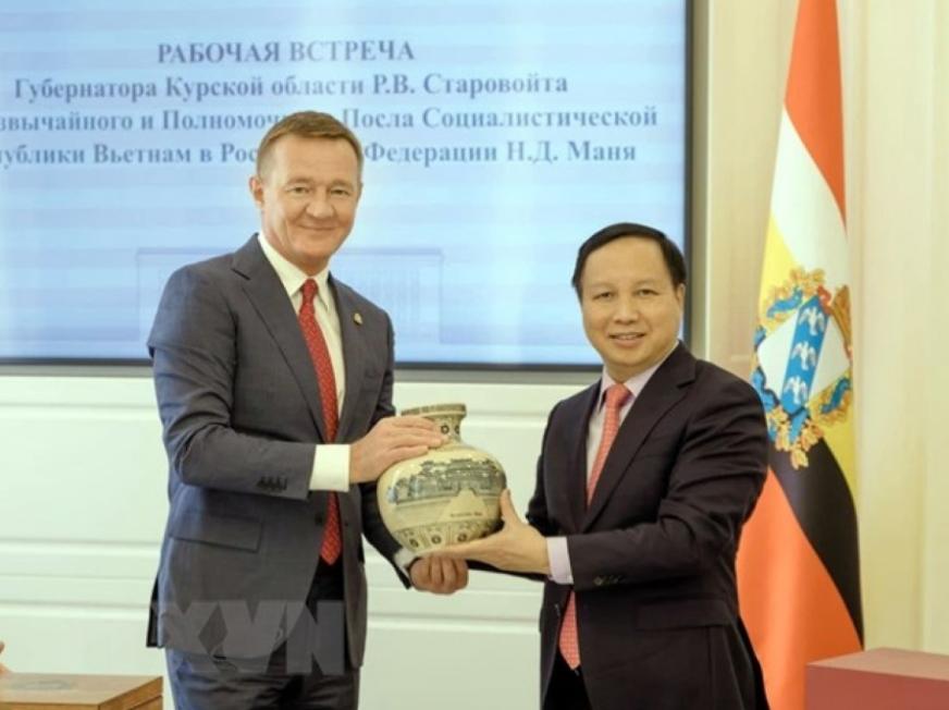 vietnam looks to boost economic trade ties with russian localities