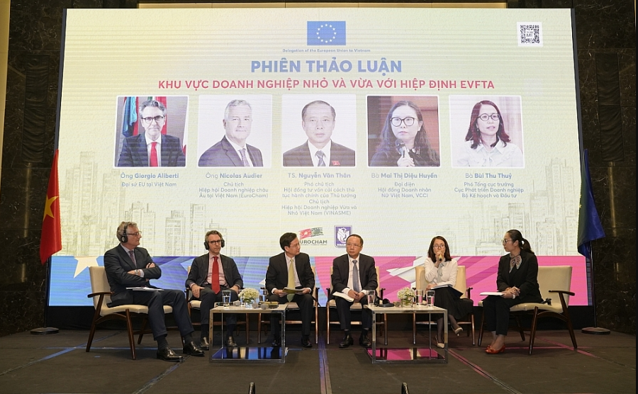 Hanoi workshop examines EVFTA opportunities, challenges for SMEs