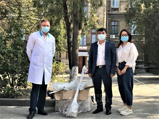 Vietnamese community in Ukraine - Fulcrum in the raging pandemic