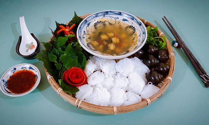 Recipe: Cool snail noodles - Hanoi