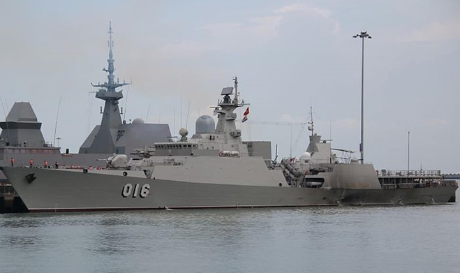 Vietnamese guard vessels holds exercise on Paracel Islands