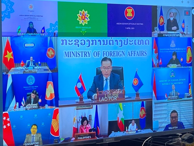 ASEAN calls against complicating situation on Bien Dong Sea