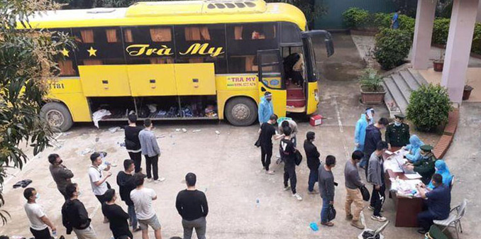 53 Chinese fined for illegally entering Vietnam