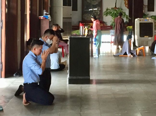 Why Vietnamese clasp hands and pray