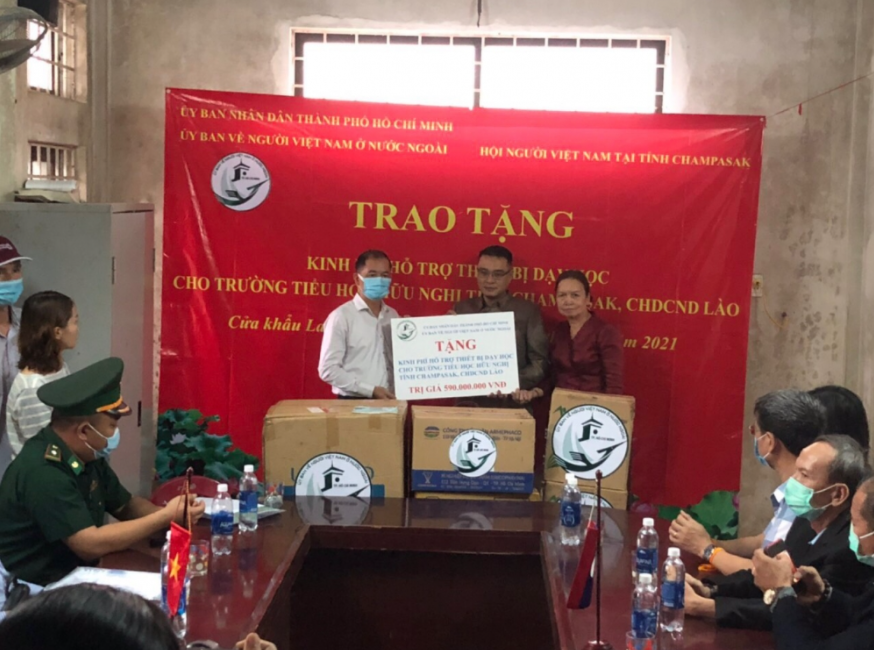 USD 25,600 donated for equipment purchase for Friendship Primary School in Champasak, Laos