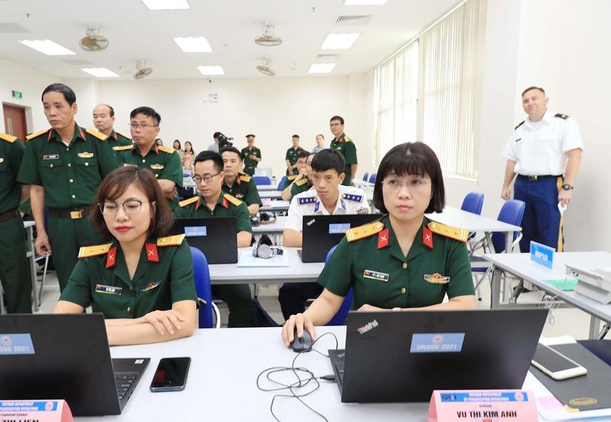 In Photos: Vietnam opens UN staff officer training course