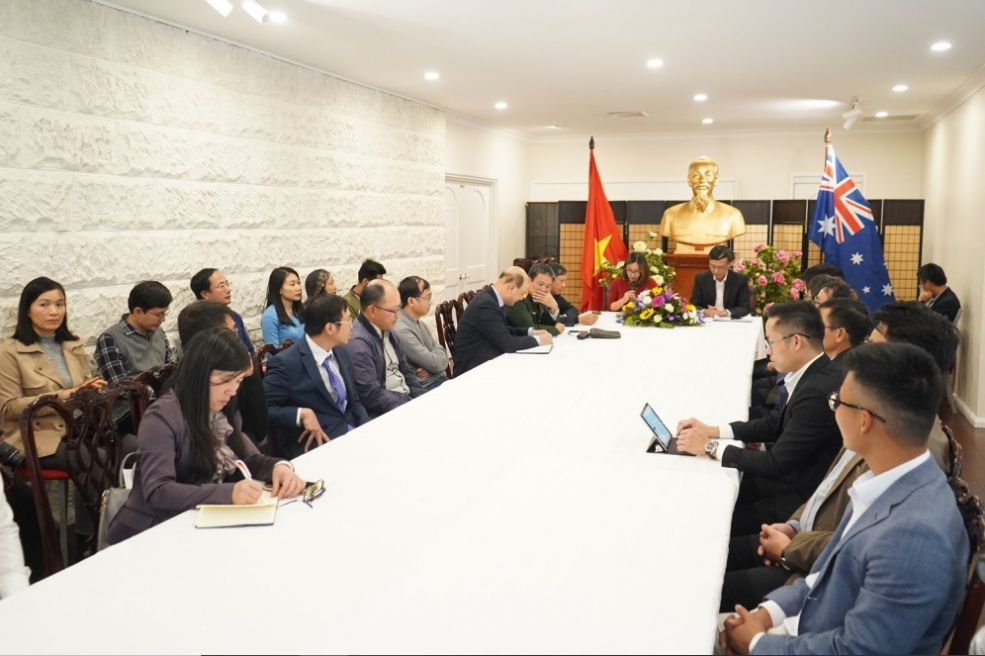 Vietnam Embassy to Australia sets out 3 missions to support Vietnamese community