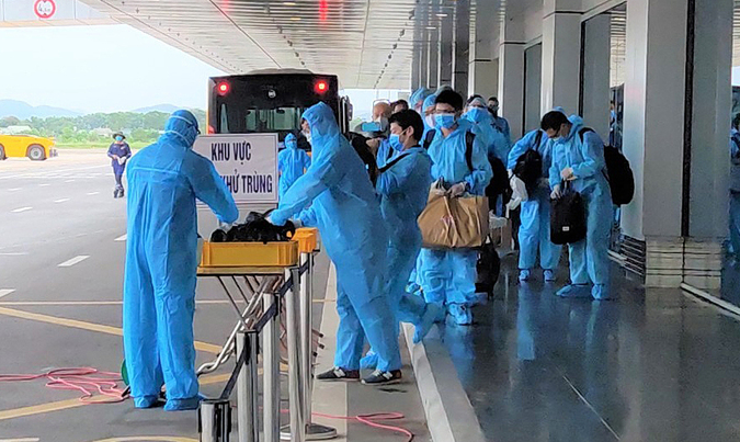 Vietnam COVID-19 Updates (April 16): 21 imported cases logged