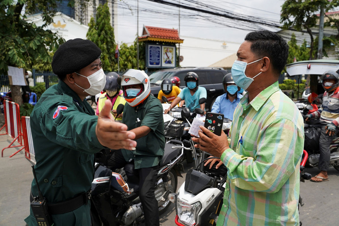 Vietnamese in Cambodia severely affected by pandemic