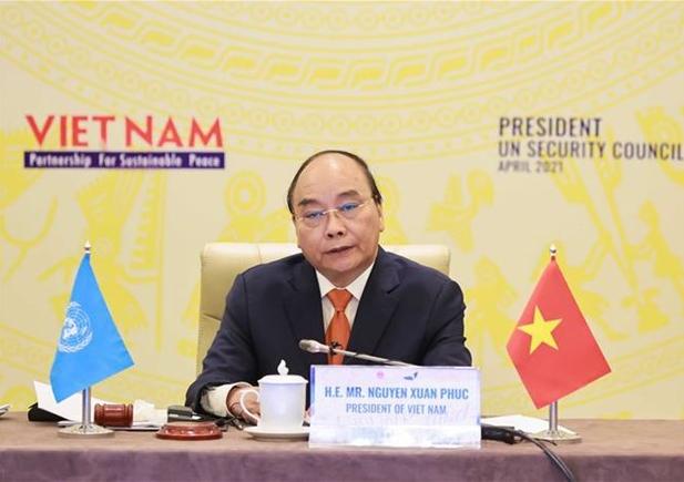Vietnamese President chairs UNSC