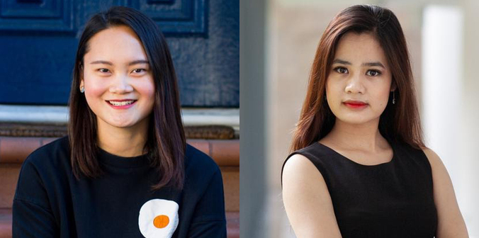 Two Vietnamese businesswomen honored in Forbes 30 Under 30 Asia