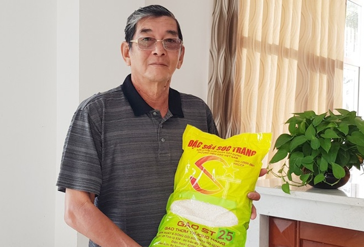 """Foreign enterprises not allowed to trademark Vietnam's rice """"ST25"""": intellectual property office"""