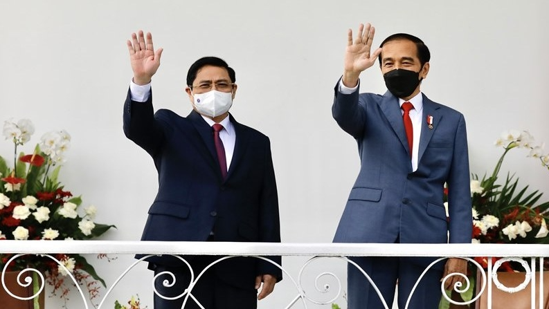 Indonesian President hosts Vietnamese PM in Bogor