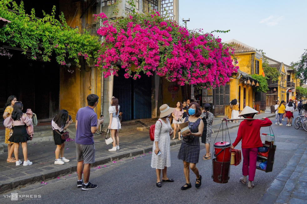 Hoi An ancient streets' summer flowers