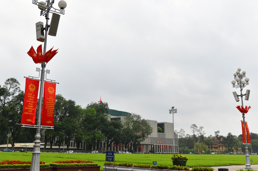 Hanoi's streets decorated for national election