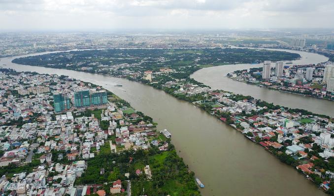 Thanh Da Peninsula - Meeting point to enjoy Saigon