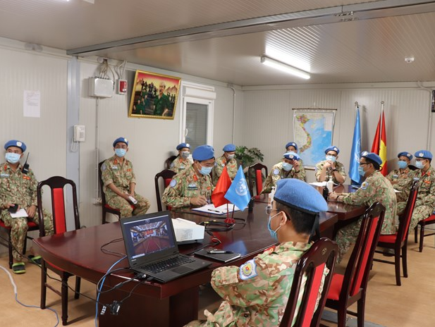 Vietnam's peacekeepers overcome difficulties to accomplish mission