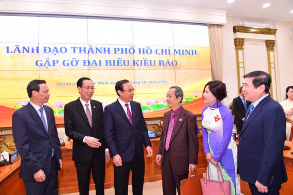 Ho Chi Minh City appreciates overseas Vietnamese' contribution