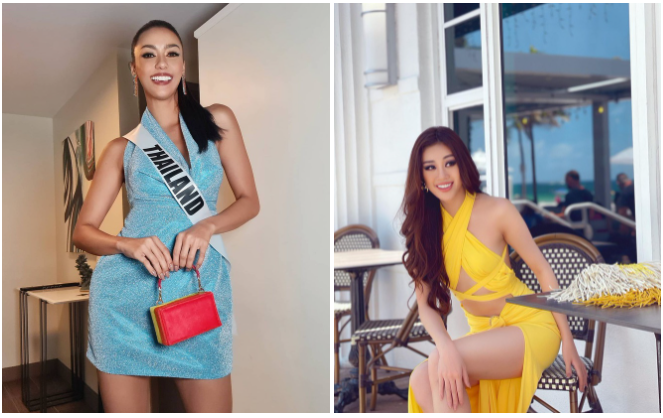 """Thai candidate at Miss Universe 2020: Miss Vietnam """"has great sense in fashion"""""""