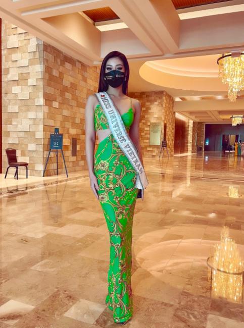Thai candidate at Miss Universe 2020: Miss Vietnam