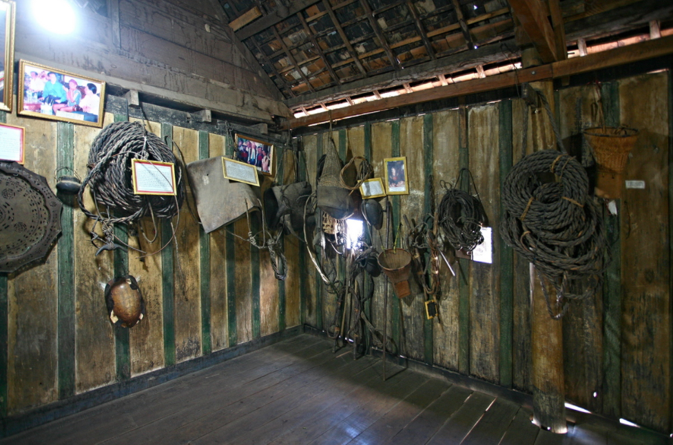 130-year-old stilt house in Central Highland's famous 'elephant village'