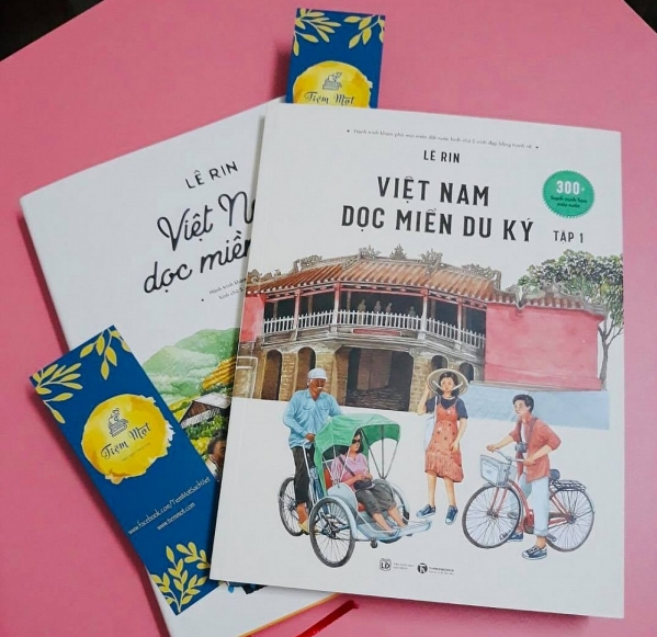 A bookstore owned by overseas Vietnamese