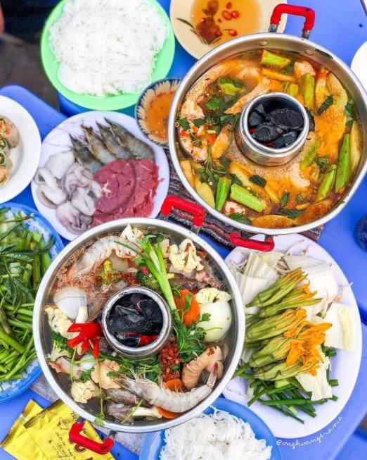 Western Vietnam's unique 'whining' hotpot