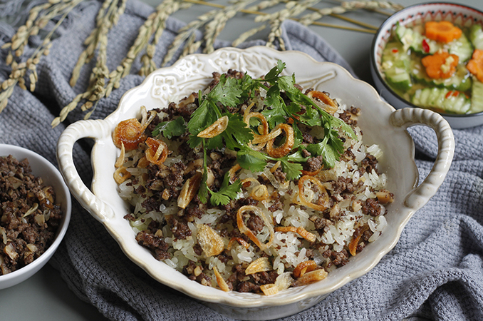 Recipe: Rich and nutritious sticky rice with pigeon meat and shiitake mushroom, with video