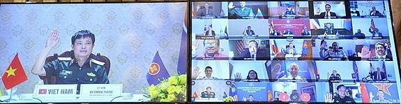 Vietnam attends ARF Defence Officials' Dialogue via virtual form