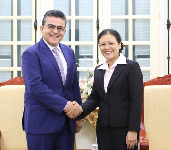 Palestinian Ambassador believes Vietnam's elections will be a success