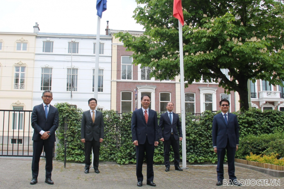 Vietnam Embassy to Netherlands takes over ASEAN Committee in The Hague rotating chair