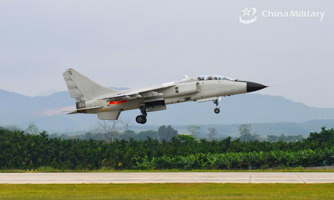 China warplanes