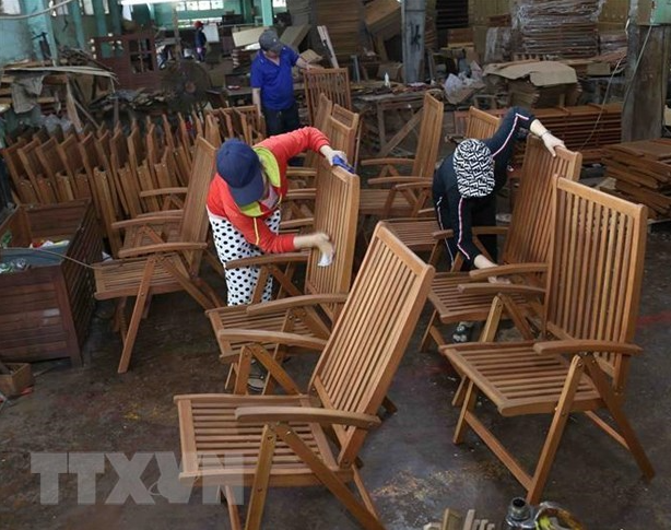 Made-in-Vietnam wood products appreciated in US market