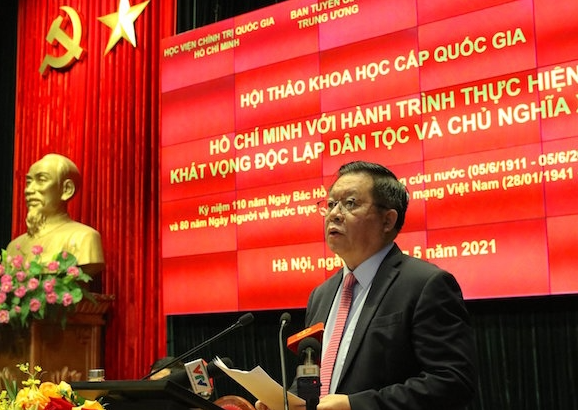 Seminar marking 110 years of Uncle Ho's journey to fight for national independence