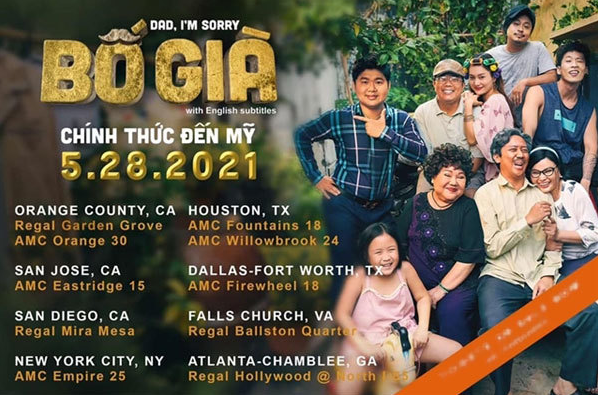 Vietnamese blockbuster to be released in the US, Australia