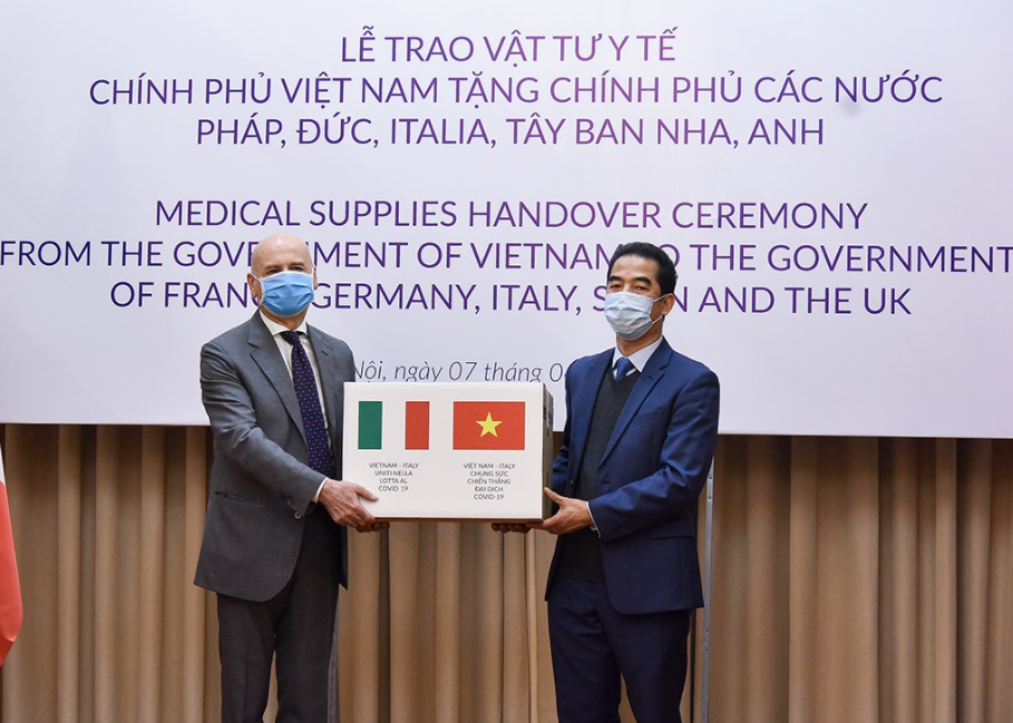Vietnam-Italy towards USD 5 billion two-way trade turnover: Deputy Foreign Minister