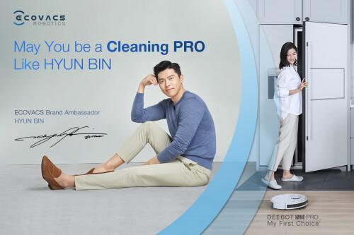 "ECOVACS ROBOTICS kicks off ""May You be a Cleaning PRO like Hyun Bin"" mid-year sale"