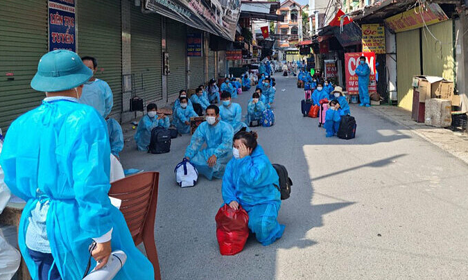 Vietnam Covid-19 Updates (June 7): 211 new cases, Bac Giang quarantine additional 2,800 workers