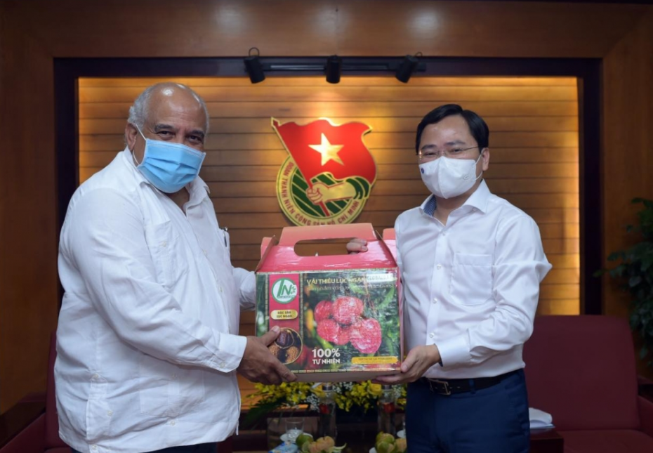 Vietnamese Youth Union promotes friendly bilateral relations with Cuba