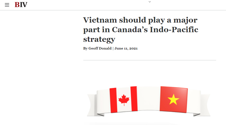Canada-ASEAN Business Council: Vietnam should play major part in Canada's strategy