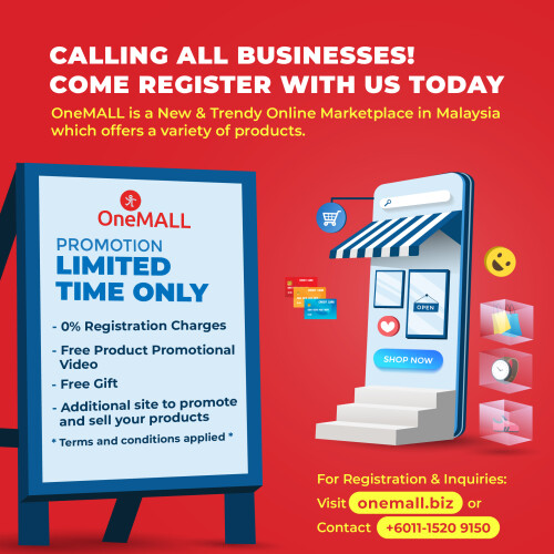 OneMALL Announces Limited Time Offer for Setup of Online Stores